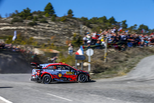 Dani Sordo (ESP), Hyundai World Rally Team, Hyundai i20 Coupe WRC 2019