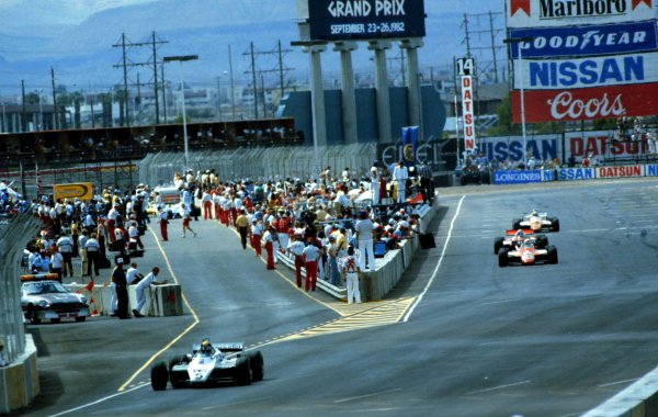 Caesar's Palace, Las Vegas, Nevada, USA. 23-25 September 1982.