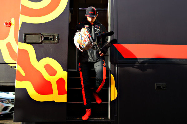 Max Verstappen, Red Bull Racing during Red Bull Racing filming day at Silverstone