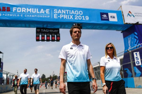 Tom Dillmann (FRA), NIO Formula E Team on the track walk