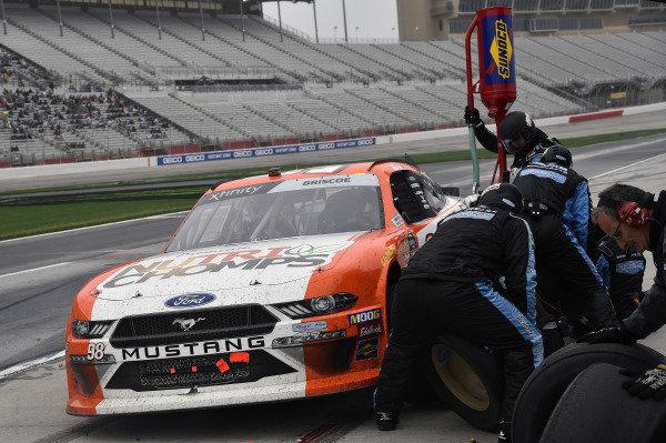 #98: Chase Briscoe, Stewart-Haas Racing, Ford Mustang Nutri Chomps