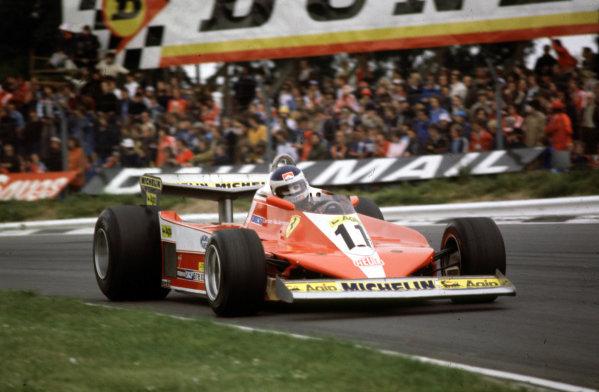 1978 British Grand Prix.Brands Hatch, England.14-16 July 1978.Carlos Reutemann (Ferrari 312T3) 1st position.World Copyright - LAT Photographic