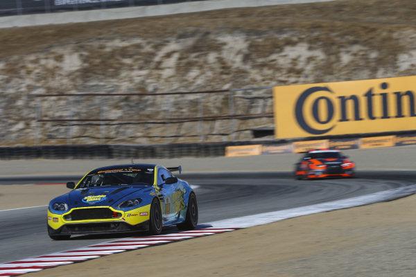 #09 Automatic Racing, Aston Martin Vantage, GS: Rob Ecklin Jr., Brandon Kidd