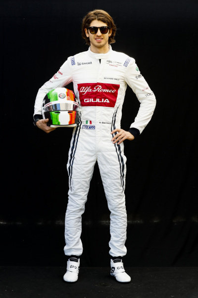 Official Portrait Antonio Giovinazzi, Alfa Romeo Racing