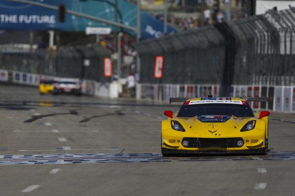 #3 Corvette Racing Corvette C7.R, GTLM: Jan Magnussen, Antonio Garcia