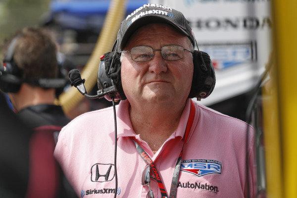 Jack Harvey, Meyer Shank Racing with Arrow SPM Honda team owner Jim Meyer