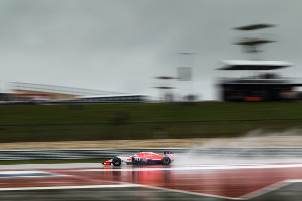 Will Stevens (GBR) Manor GP at Formula One World Championship, Rd16, United States  Grand Prix, Qualifying, Austin, Texas, USA, Sunday 25 October 2015.