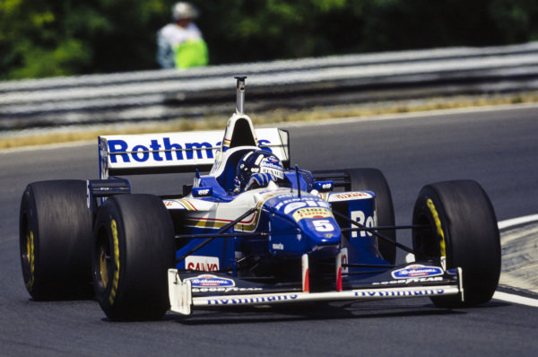 Damon Hill, Williams FW18 Renault.