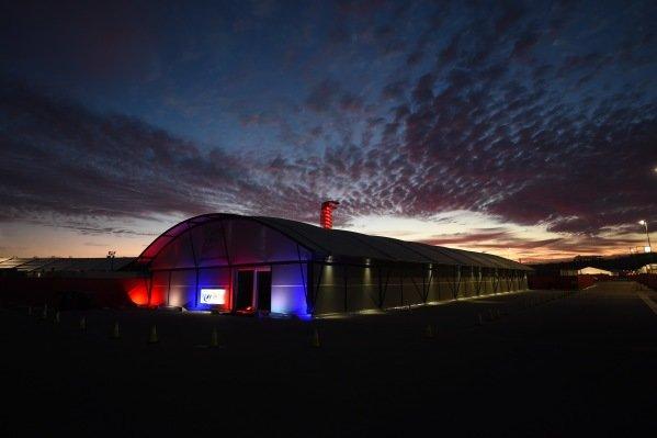 Sunrise at Formula One World Championship, Rd18, United States Grand Prix, Race, Circuit of the Americas, Austin, Texas, USA, Sunday 23 October 2016.