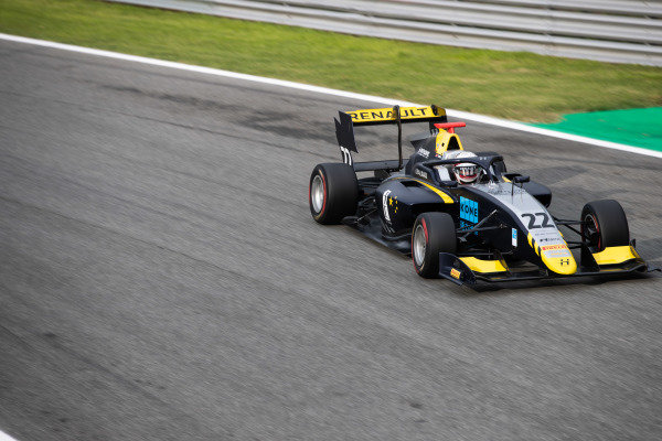 AUTODROMO NAZIONALE MONZA, ITALY - SEPTEMBER 06: Ye Yifei (CHI, Hitech Grand Prix) during the Monza at Autodromo Nazionale Monza on September 06, 2019 in Autodromo Nazionale Monza, Italy. (Photo by Joe Portlock / LAT Images / FIA F3 Championship)