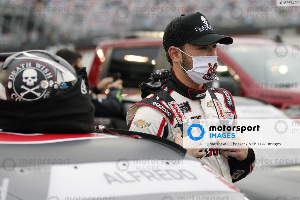 #21: Anthony Alfredo, Richard Childress Racing, Chevrolet Camaro Death Wish Coffee
