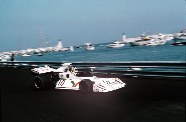 Monte Carlo, Monaco.31/5-3/6 1973.Carlos Reutemann (Brabham BT42 Ford).Ref-35mm 73 MON 25.World Copyright: LAT Photographic