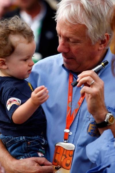 Silverstone, Northamptonshire, UK.4th July 2008.Charlie Whiting, FIA Safety Delegate. Portrait. World Copyright: Charles Coates/LAT Photographic.ref: Digital Image _26Y2824