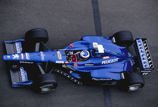 Magny-Cours, France. 26-28 June 1998.Olivier Panis (Prost AP01 Peugeot).Ref-98 FRA 66.World Copyright - Martyn Elford/LAT Photographic