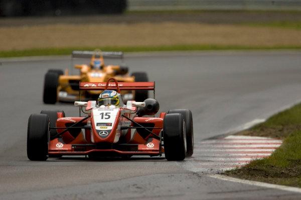 Christian Vietoris, Mucke Motorsport leads Esteban Guerrieri, Ultimate Motorsport. Action. World Copyright: Drew Gibson/LATref: Digital Image MQ9M3698