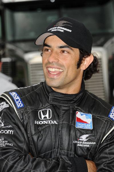 Rapael Matos (BRA), Luczo Dragon Racing.IndyCar Series, Rd3, Road Runner Turbo 300, Kansas Speedway, Kansas, USA. 25-26 April 2009.