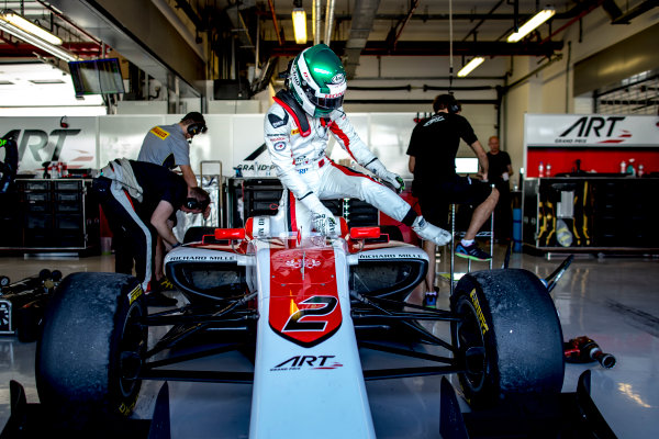 2016 GP3 Series Test 5. Yas Marina Circuit, Abu Dhabi, United Arab Emirates. Wednesday 30 November 2016. Nirei Fukuzumi (JPN, ART Grand Prix)  Photo: Zak Mauger/GP3 Series Media Service. ref: Digital Image _L0U3260
