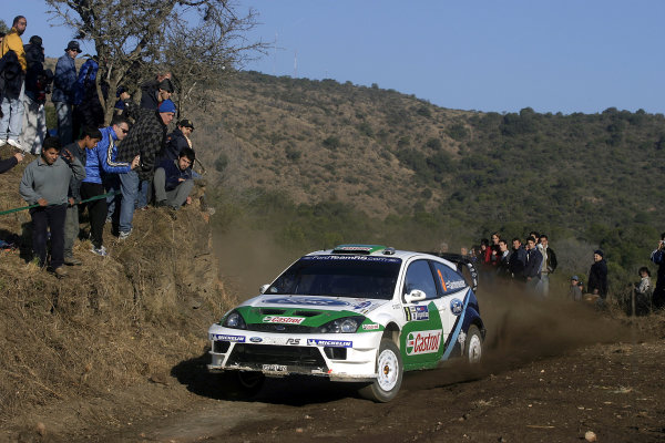 2005 FIA World Rally Champs. Round nine, Rally Argentina 14th - 17th July 2005 Toni Gardemeister, Ford, action World Copyright: McKlein/LAT