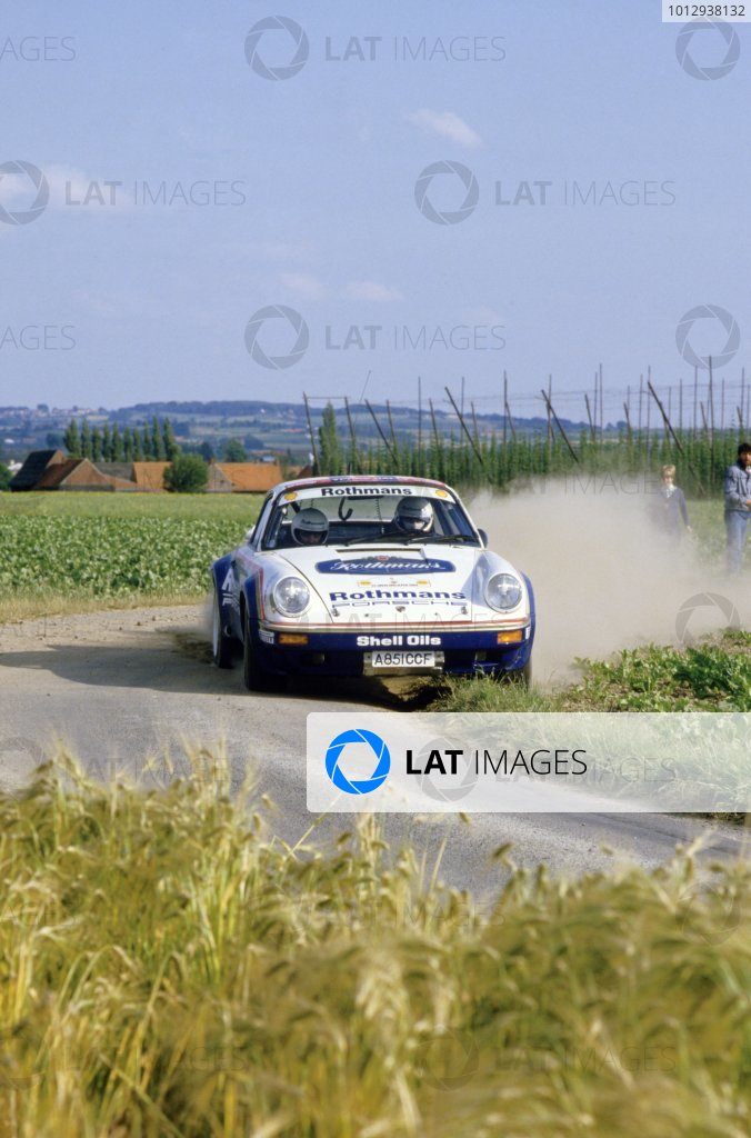 1984 European Rally Championship.