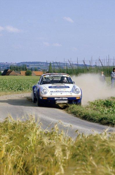 1984 European Rally Championship.Ypres Rally, Belgium. 1984.Henri Toivonen (Porsche).World Copyright: LAT PhotographicRef: 35mm transparency 84RALLY17