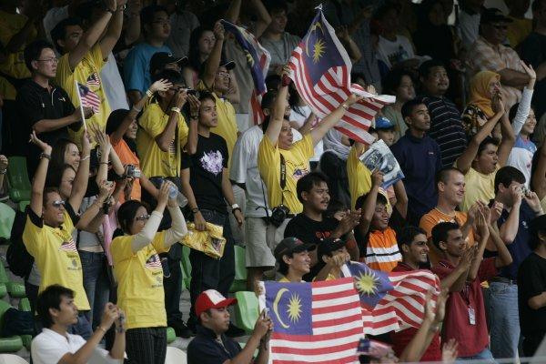2005 A1 Grand Prix Championship.Round 5, Sepang International Circuit. 18th - 20th November 2005.Malaysian fansWorld Copyright: Batchelor/LATref: Digital Image Only