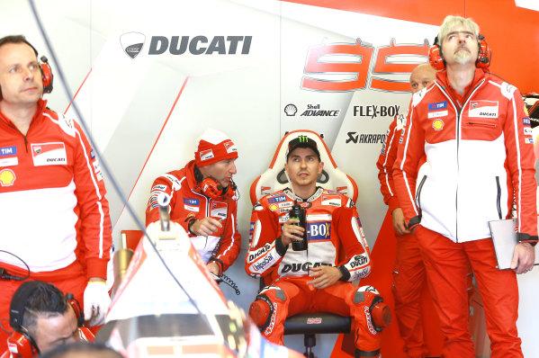 2017 MotoGP Championship - Round 5 Le Mans, France Saturday 20 May 2017 Jorge Lorenzo, Ducati Team World Copyright: Gold & Goose Photography/LAT Images ref: Digital Image 671048