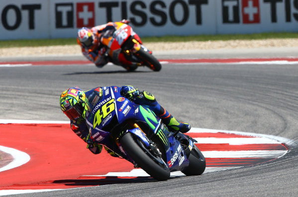 2017 MotoGP Championship - Round 3 Circuit of the Americas, Austin, Texas, USA Sunday 23 April 2017 Valentino Rossi, Yamaha Factory Racing World Copyright: Gold and Goose Photography/LAT Images ref: Digital Image MotoGP-R-500-3030