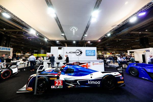 Autosport International Exhibition. National Exhibition Centre, Birmingham, UK. Friday 12th January 2018. The Ligier stand.World Copyright: Glenn Dunbar/LAT Images Ref: _31I2446