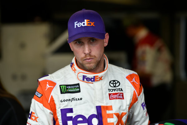 Monster Energy NASCAR Cup Series First Data 500 Martinsville Speedway, Martinsville VA USA Saturday 28 October 2017 Denny Hamlin, Joe Gibbs Racing, FedEx Walgreens Toyota Camry World Copyright: Scott R LePage LAT Images ref: Digital Image lepage-171028-mart-3793