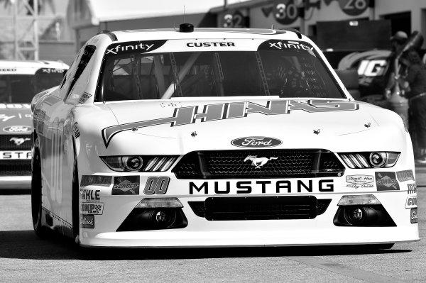 NASCAR Xfinity Series PowerShares QQQ 300 Daytona International Speedway, Daytona Beach, FL USA Friday 16 February 2018 Cole Custer, Stewart-Haas Racing with Biagi-Denbeste Racing, Haas Automation Ford Mustang World Copyright: Rusty Jarrett LAT Images