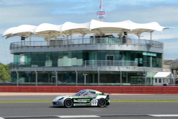2017 Ginetta GT5 Challenge and GRDC+, Silverstone, 11th-12th June 2017, Ollie Wilkinson Optimum Motorsport Ginetta G40. World copyright. JEP/LAT Images