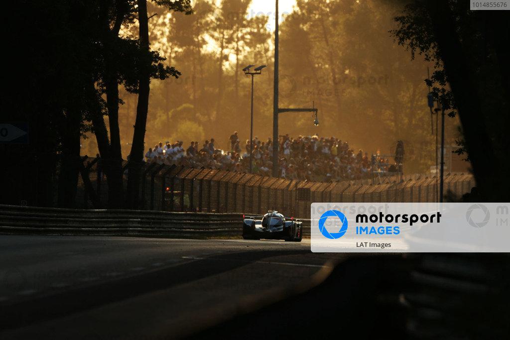 2017 Le Mans 24 Hours Circuit de la Sarthe, Le Mans, France. Sunday 18th  June 2017 #9 Toyota Gazoo Racing Toyota TS050-Hybrid: Nicolas Lapierre, Yuji Kunimoto, Jose Maria Lopez  World Copyright: JEP/LAT Images