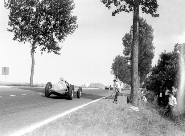 1950 French Grand Prix.Reims-Gueux, France. 2 July 1950.Philippe Etancelin in the Lago-Talbot T26C-DA he shared with Eugene Chaboud. Ref: B&W negative no. C27334.World Copyright: LAT Photographic