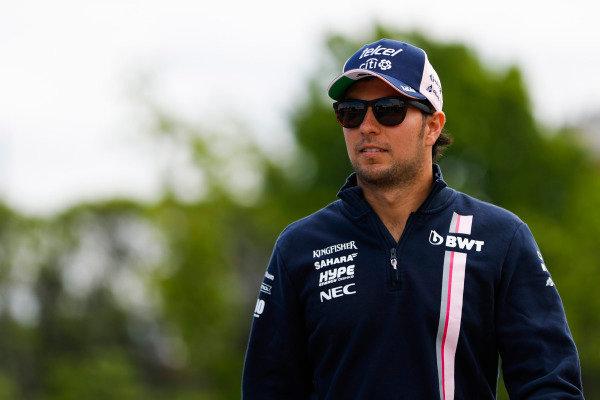 Sergio Perez, Force India.