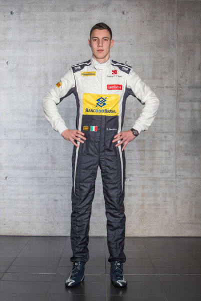 Sauber C34 Reveal. Hinwil, Switzerland. Thursday 29 January 2015. Raffaele Marciello. Photo: Sauber F1 Team (Copyright Free FOR EDITORIAL USE ONLY) ref: Digital Image 20150130_Raffaele_Marciello_Front