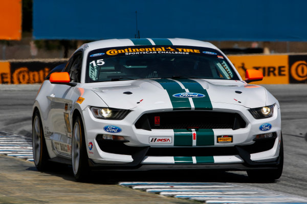29-30 April, 2016, Monterey, California USA 15, Ford, Shelby GT350R-C, GS, Scott Maxwell, Billy Johnson ?2016, Jake Galstad LAT Photo USA