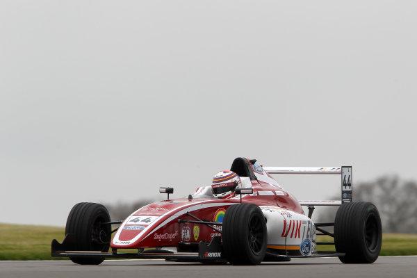 2016 MSA Formula Donington Park, 16th-17th April 2016, Patrik Matthiessen (DEN) JTR MSA Formula  World copyright. Jakob Ebrey/LAT Photographic