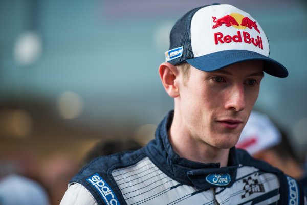 Elfyn Evans (GBR)Ford Fiesta RS WRC at FIA World Rally Championship, R10, Coates Hire Rally Australia, Day One, Coffs Harbour, New South Wales, Australia, 11 September 2015.