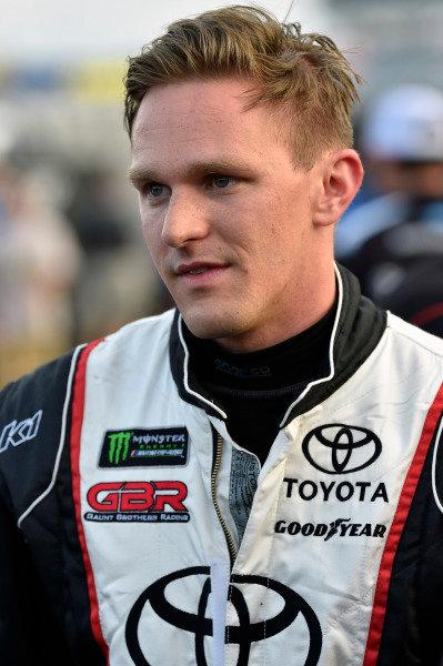 #96: Parker Kligerman, Gaunt Brothers Racing, Toyota Camry Gaunt Brothers Racing