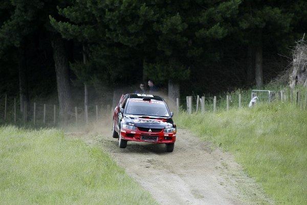 2006 FIA World Rally Champs. Round fifteenNew Zealand Rally.16th-19th November 2006.Fumio Nutahara, Mitsubishi PWRC, action.World Copyright: McKlein/LAT
