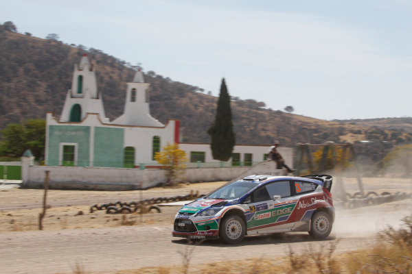 Round 2, Rally of Mexico, 3rd-6th March 2011WRC, Action, Worldwide Copyright: McKlein/LAT