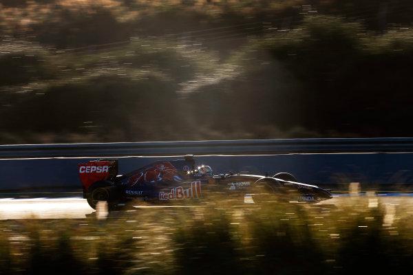 2014 F1 Pre Season Test 1 - Day 3 Circuito de Jerez, Jerez, Spain. Thursday 30 January 2014. Jean-Eric Vergne, Toro Rosso STR9 Renault. World Copyright: Andrew Ferraro/LAT Photographic. ref: Digital Image _79P1574