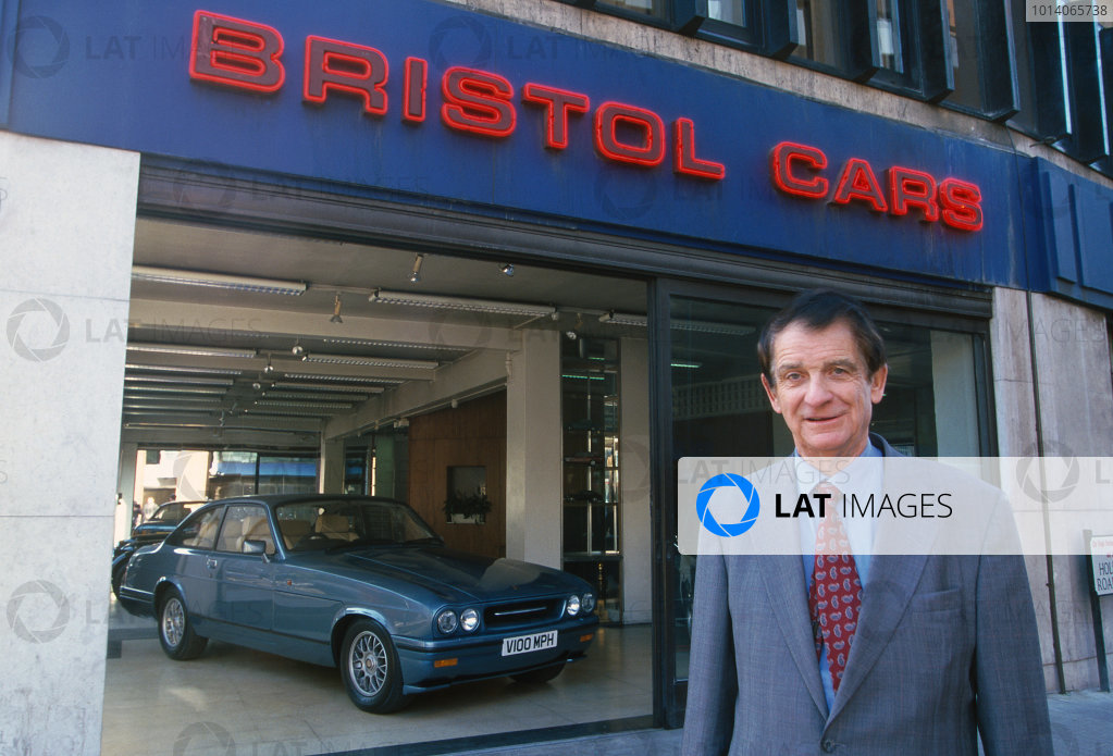 Tony Crook. Bristol Cars. World Copyright: LAT Photographic.