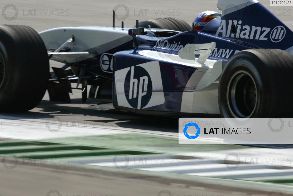 2003 Austrian Grand Prix, Saturday Qualifying,