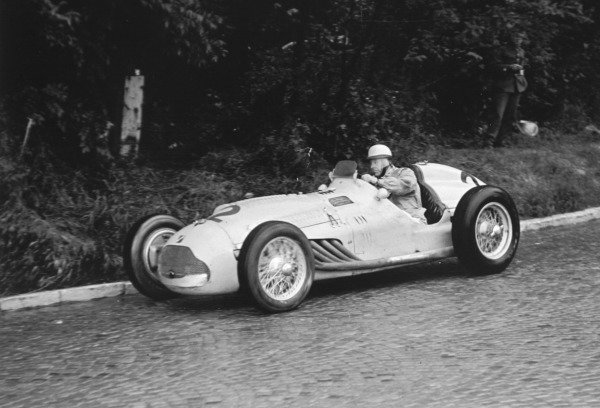 1951 Swiss Grand Prix.Bremgarten, Berne, Switzerland. 27 May 1951.Johnny Claes (Lago-Talbot T26C). Ref-C29183.World Copyright - LAT Photographic