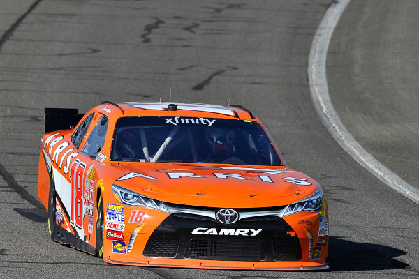 20-21 March, 2015, Fontana, California USA Daniel Suarez, Arris Toyota Camry ?2015, Jennifer Coleman LAT Photo USA