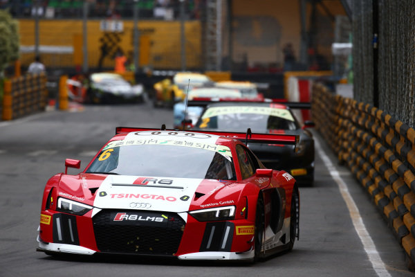 Edoardo Mortara (ITA) Audi Sport Team Phoenix, Audi R8 LMS at SJM Macau GT Cup - FIA GT World Cup, Macau, China, 19-22 November 2015.