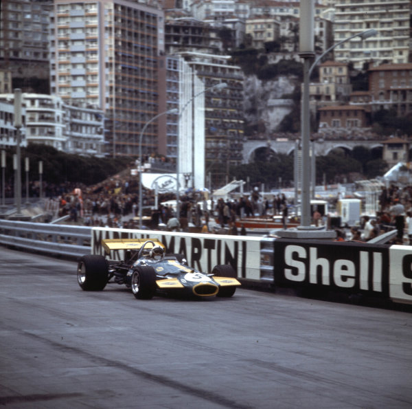 1970 Monaco Grand Prix.Monte Carlo, Monaco.7-10 May 1970.Jack Brabham (Brabham BT33 Ford) 2nd position.Ref-3/4037J.World Copyright - LAT Photographic