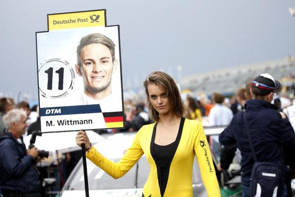 Grid girl of Marco Wittmann, BMW Team RMG.