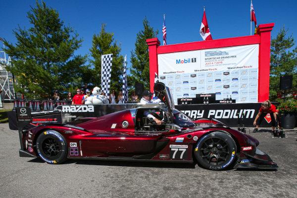 #77 Mazda Team Joest Mazda DPi, DPi: Oliver Jarvis, Tristan Nunez, Race Winner, John Doonan